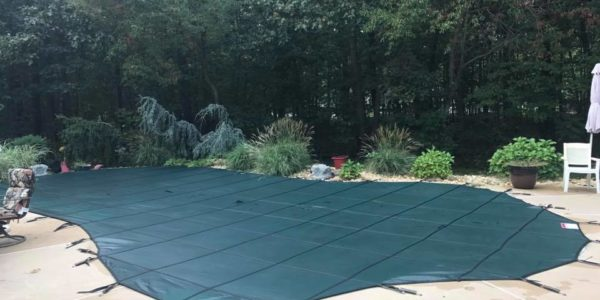 Safety covers for closings by Clear Water Pool Services LLC.